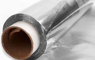 Aluminum foil for sound insulation