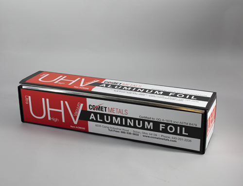 What is UHV aluminum foil?